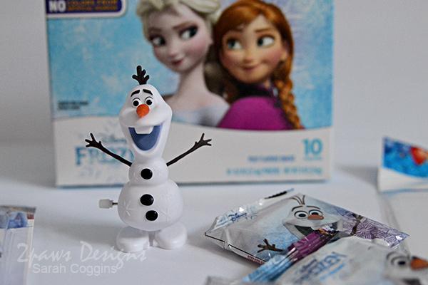 Walking Olaf Toy