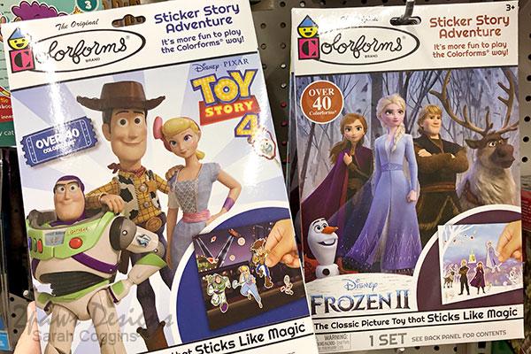 Disney Themed Colorforms Sticker Sets