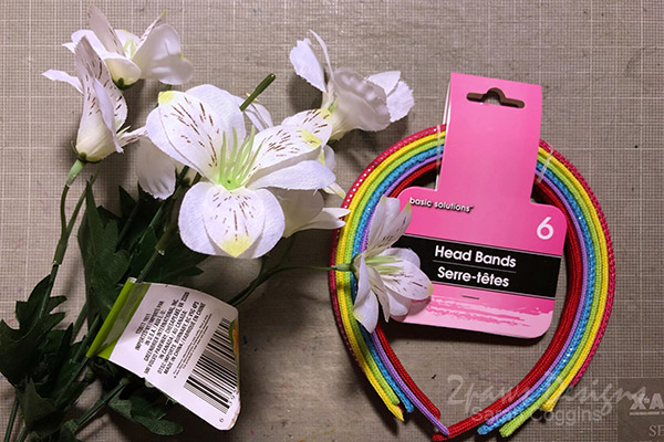 Floral Fairy Headband: Supplies