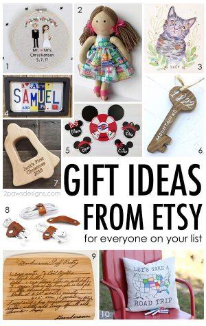 Unique Etsy Gift Ideas