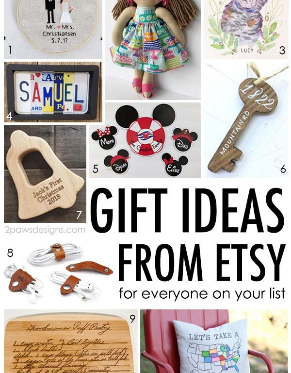 Unique Etsy Gift Ideas