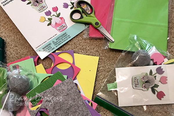 Easter Craft Kit Packing