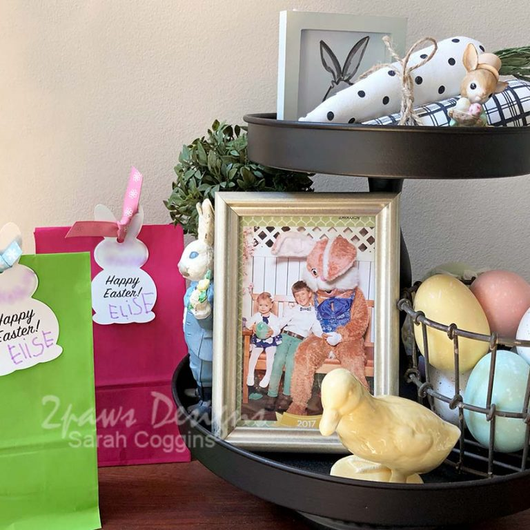 Simple Easter Craft Gift Bags