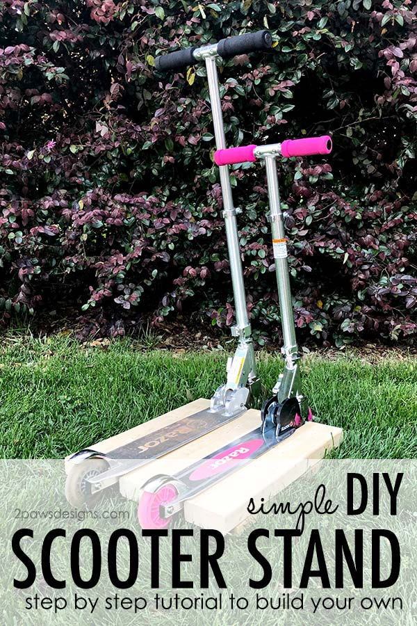 Simple DIY Scooter Stand