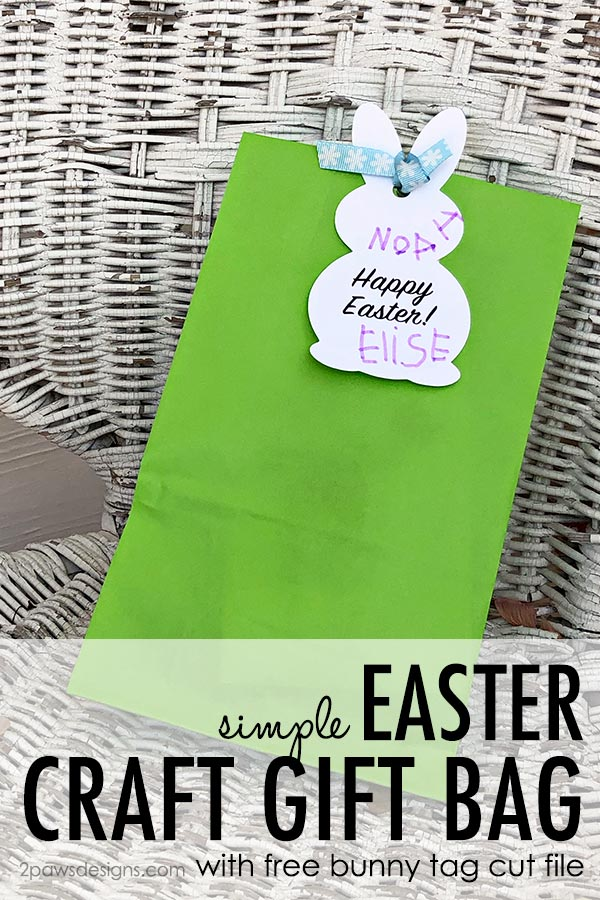 Easter Craft Gift Bag