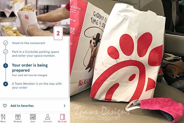 Chick-fil-A Mobile Order with Curbside Pickup