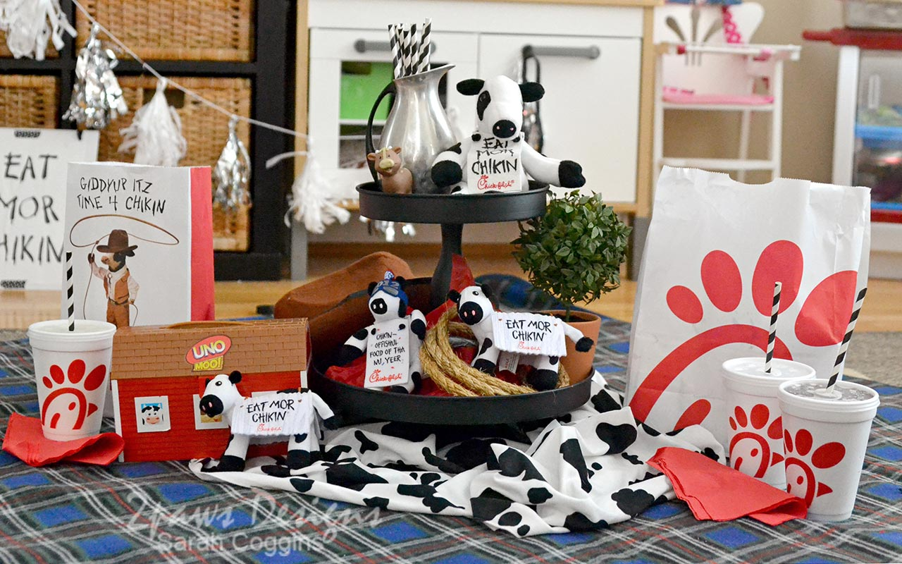 Cow Appreciation Day Picnic at Home Decor
