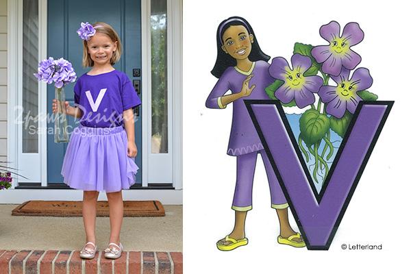 Vicky Violet Costume + Inspiration