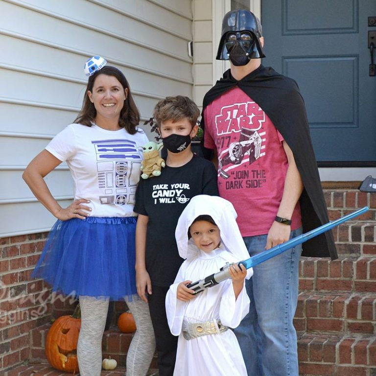 Family Star Wars Themed Halloween Costumes