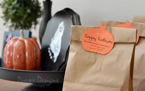 Labeled Halloween Bags 2020