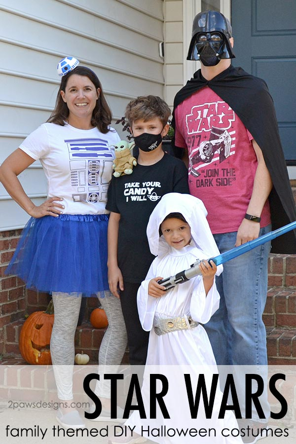Star Wars Family Themed Halloween Costumes