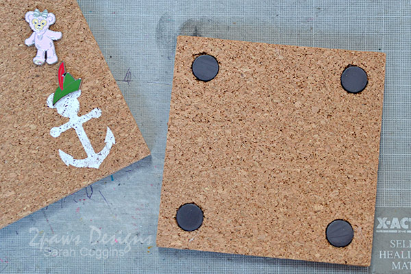 Add Magnets to the Back of the Pin Trading Boards