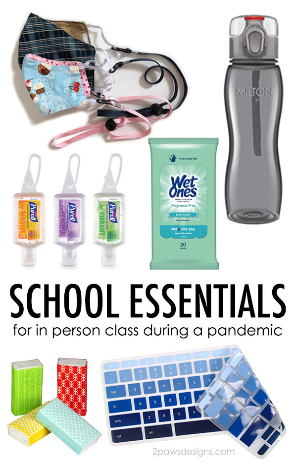 School Essentials for In Person Learning During a Pandemic
