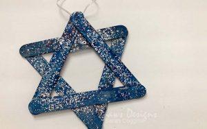 Star of David Hanukkah Craft